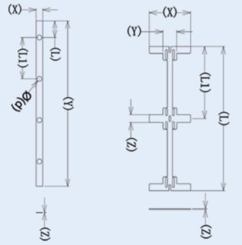 异形焊带成型参考